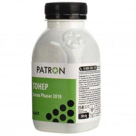 ТОНЕР XEROX PHASER 3010, ФЛАКОН, 50 Г, PATRON, (SPECIAL)