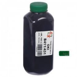 ТОНЕР OKI B411, ФЛАКОН, 160 Г, (+ЧИП), АНК