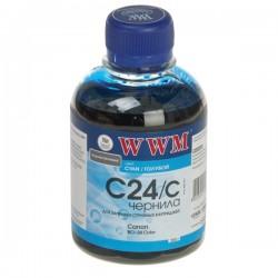 ЧЕРНИЛА CANON BCI-24, СИНИЙ, (200 ГР), C24C, WWM