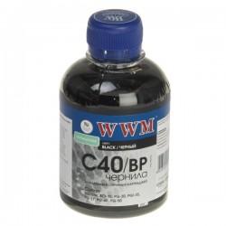 ЧЕРНИЛА CANON PG-40, ЧЕРНЫЕ, ПИГМЕНТ, (200 ГР, C40/BP), WWM