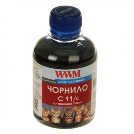 ЧЕРНИЛА CANON CLI-521, СИНИЕ, (200 ГР, C11/C), WWM