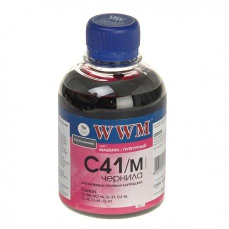 ЧЕРНИЛА CANON CL-41, КРАСНЫЕ, (200 ГР, C41M), WWM