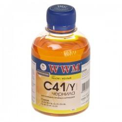 ЧЕРНИЛА CANON CL-41, ЖЕЛТЫЕ, (200 ГР, C41Y), WWM