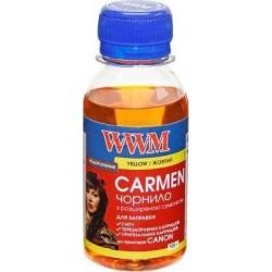 ЧЕРНИЛА CANON CARMEN, ЖЕЛТЫЕ, (100 ГР, CU/Y-2), WWM
