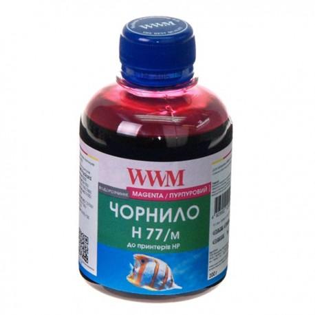 ЧЕРНИЛА HP C8719/C8721/C5016 КРАСНЫЙ, (200 ГР, H77/M), WWM