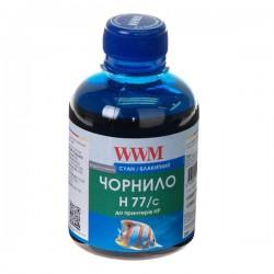ЧЕРНИЛА HP C8719/C8721/C5016 СИНИЙ, (200 ГР, H77/C), WWM
