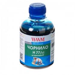 ЧЕРНИЛА HP C8719/C8721/C5016 СВ. СИНИЙ, (200 ГР, H77/LC), WWM