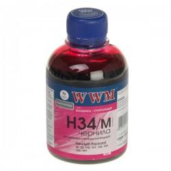 ЧЕРНИЛА HP C8766/C9361/C9363 КРАСНЫЙ, (200 ГР, H34M), WWM