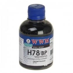 ЧЕРНИЛА HP CB316/CB321 ЧЕРНЫЙ, (200 ГР, H78/BP), WWM