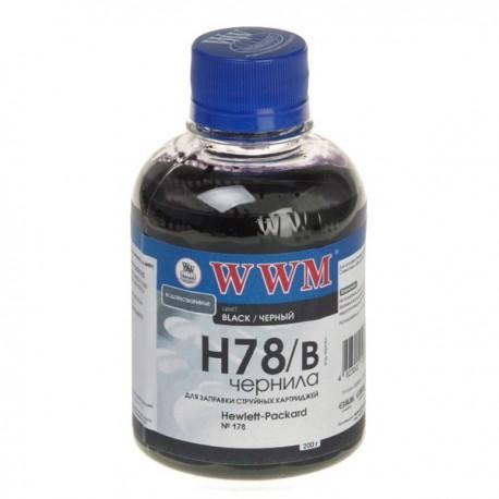 ЧЕРНИЛА HP CB316/CB321 ЧЕРНЫЙ, (200 ГР, H78/B), WWM