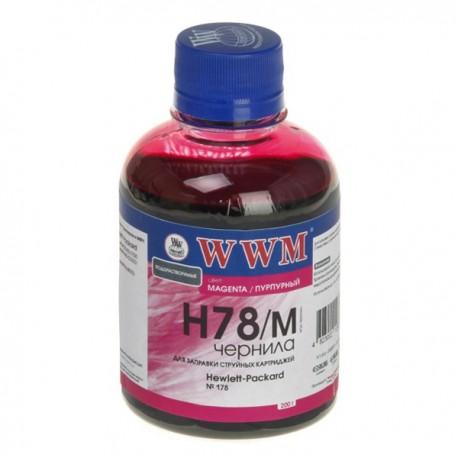 ЧЕРНИЛА HP CB316/CB321 КРАСНЫЙ, (200 ГР, H78/M), WWM