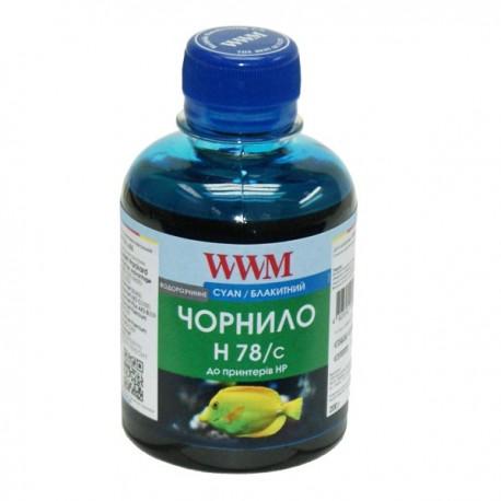 ЧЕРНИЛА HP CB316/CB321 СИНИЙ, (200 ГР, H78/C), WWM