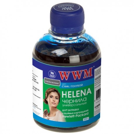 ЧЕРНИЛА HP HELENA СИНИЙ, (200 ГР, HU/C), WWM