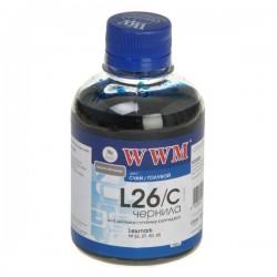 ЧЕРНИЛА LEXMARK 10N0026/10N0227 СИНИЙ, (200 ГР, L26C), WWM