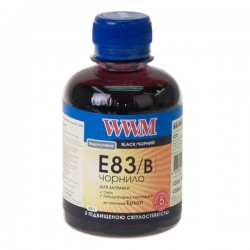 ЧЕРНИЛА EPSON ST. PHOTO R270/P50/T50, ЧЕРНЫЕ, (200 ГР, E83/B), WWM