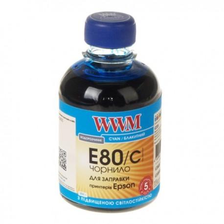 ЧЕРНИЛА EPSON L800, СИНИЕ, (200 ГР, E80/C), WWM