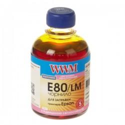 ЧЕРНИЛА EPSON L800, СВ. КРАСНЫЕ, (200 ГР, E80/LM), WWM