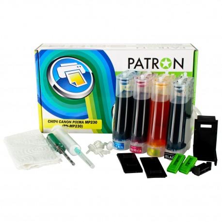 СНПЧ CANON PIXMA MP230, (PATRON)