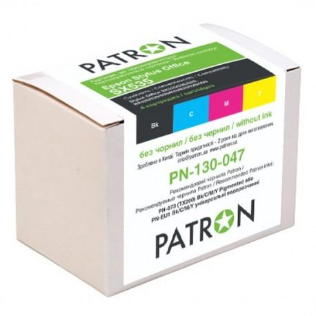 КОМПЛЕКТ КАРТРИДЖЕЙ EPSON ST. SX535, PN-130-047 (4 ШТ ПЕРЕЗАПРАВЛЯЕМЫХ), PATRON