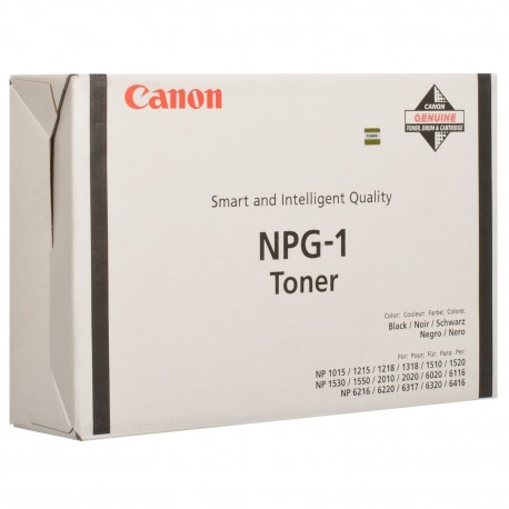 ТОНЕР-КАРТРИДЖ CANON NP-1215, NPG-1, (1372A005)