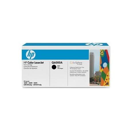 КАРТРИДЖ HP CLJ 2600, (Q6000A/124A), ЧЕРНЫЙ