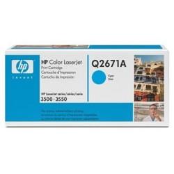 КАРТРИДЖ HP CLJ 3500, (Q2671A/309A), СИНИЙ