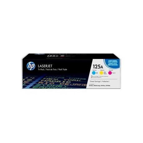 КАРТРИДЖ HP CLJ CP1215 (CF373AM/125A, CB541A+CB542A+CB543A), ЦВЕТНОЙ