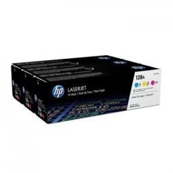 КАРТРИДЖ HP CLJ CP1525, (CF371AM/128A, CE321A, CE322A, CE323A), ЦВЕТНОЙ