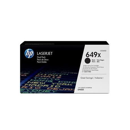 КАРТРИДЖ HP CLJ CP4525, (CE260XD/649X, 2ХCE260X) (MAX), ЧЕРНЫЙ