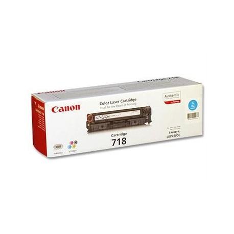 КАРТРИДЖ CANON LBP-7200, (CARTRIDGE 718), СИНИЙ