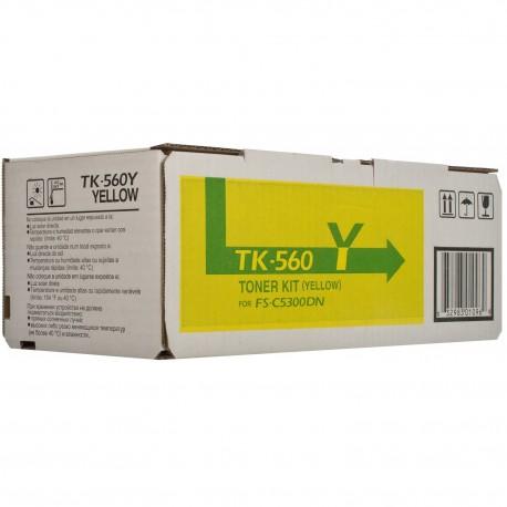 ТОНЕР-КАРТРИДЖ MITA FS-C5300, (TK-560Y), ЖЕЛТЫЙ
