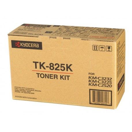 ТОНЕР-КАРТРИДЖ MITA KM-C2520, (TK-825K), ЧЕРНЫЙ