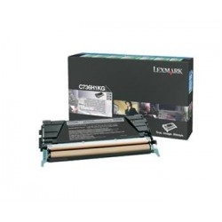 КАРТРИДЖ LEXMARK C736, (C736H1KG, HIGH YIELD), ЧЕРНЫЙ