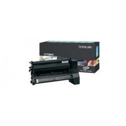 КАРТРИДЖ LEXMARK C772, (C7720KX, HIGH YIELD RETURN PROGRAM), ЧЕРНЫЙ