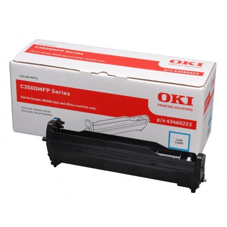 DRUM UNIT OKI C3520, (43460223), СИН.