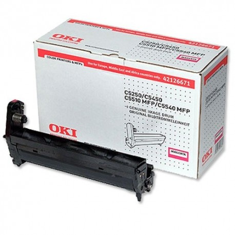 DRUM UNIT OKI C5250, (42126671), КРАС.