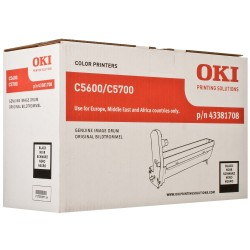 DRUM UNIT OKI C5600, (43381708), ЧЕРН.