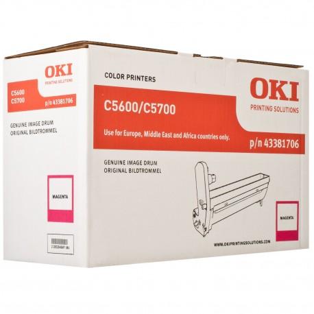 DRUM UNIT OKI C5600, (43381706), КРАС.