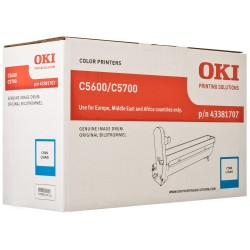 DRUM UNIT OKI C5600, (43381707), СИН.