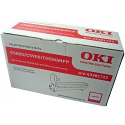DRUM UNIT OKI C5800, (43381722), КРАС.