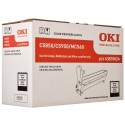 DRUM UNIT OKI C5850, (43870024), ЧЕРН.