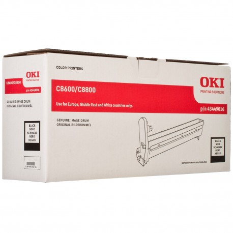 DRUM UNIT OKI C8600, (43449016), ЧЕРН.
