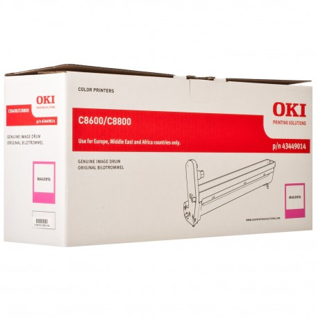 DRUM UNIT OKI C8600, (43449014), КРАС.