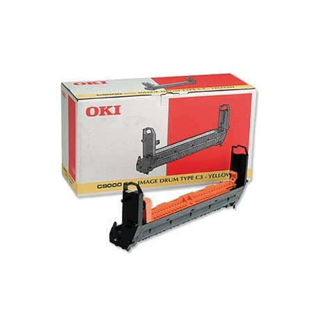 DRUM UNIT OKI C9000, (41514709, TYPE C3), ЖЕЛТ.