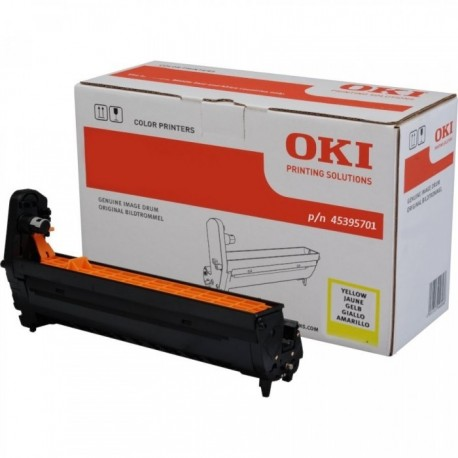 DRUM UNIT OKI MC770, (45395701), ЖЕЛТ.