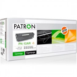 КАРТРИДЖ HP LJ 1010, (Q2612A/12A, EXTRA), PATRON