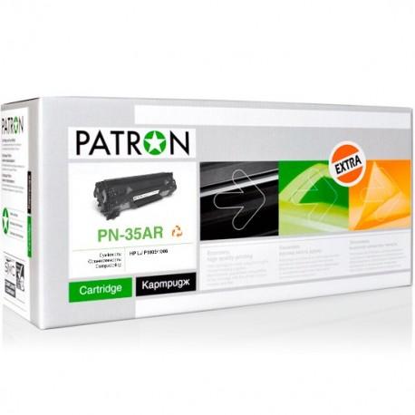 КАРТРИДЖ HP LJ P1005, (CB435A/35A, EXTRA), PATRON