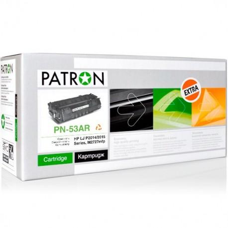 КАРТРИДЖ HP LJ P2015, (Q7553A/53A, EXTRA), PATRON
