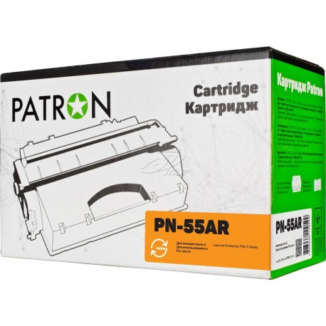 КАРТРИДЖ HP LJ P3015, (CE255A/55A, EXTRA), PATRON