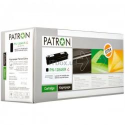 КАРТРИДЖ HP CLJ CP1525, (CE320A/128A, EXTRA), PATRON, ЧЕРНЫЙ